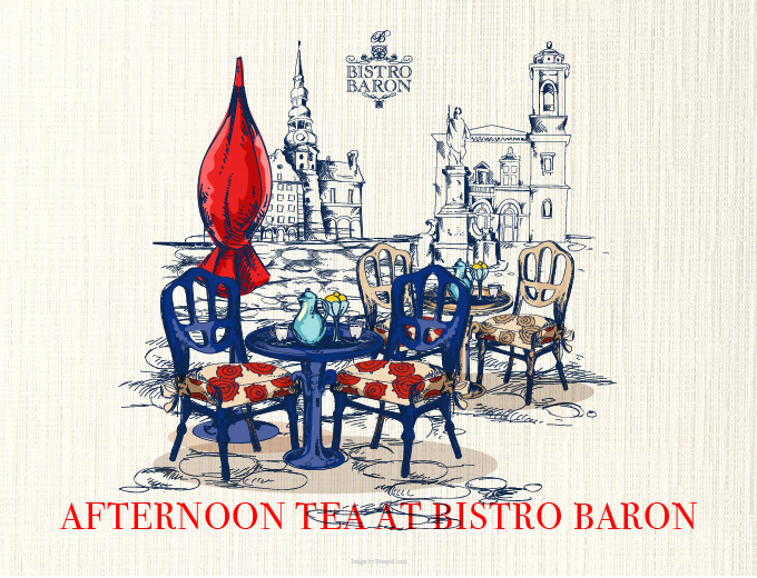 Afternoon Tea At Bistro Baron
